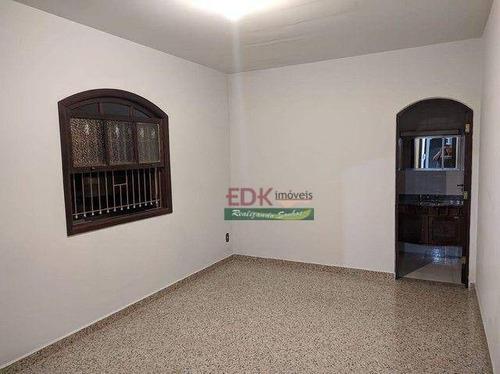 Casa Com 3 Dormitórios À Venda, 194 M² Por R$ 668.000 - Centro - Mogi Das Cruzes/sp - Ca6623