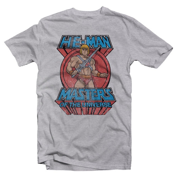 Playera He-man Masters Of The Universe
