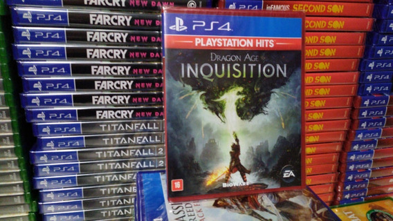 Dragon Age Inquisition Ps4 Português Mídia Física Lacrado