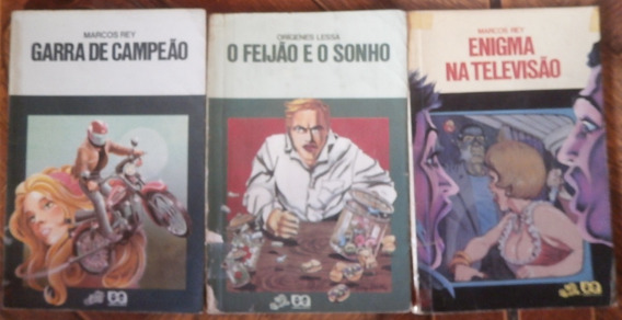Lote Livros Coleção Vagalume Com 03 Unidades