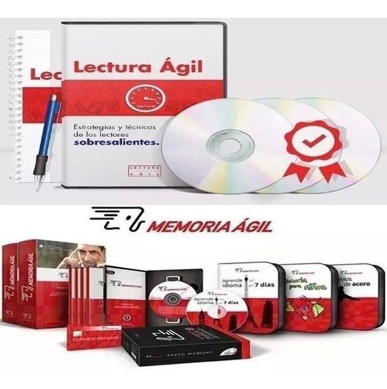 Memoria Ágil Y Lectura Agil. Curos Completos. 2x1.