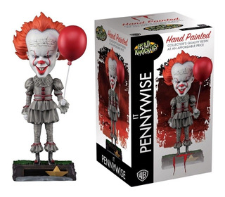Figura It Pennywise Head Knocker Neca Original 23cm