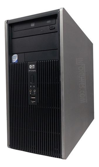Gabinete Hp Processador Intel Core2 Duo E7400 Ram 2 Gb
