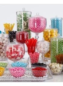 Combo Cumpleaños Para Candy Bar Pastillas-malvavisco Y Chicl