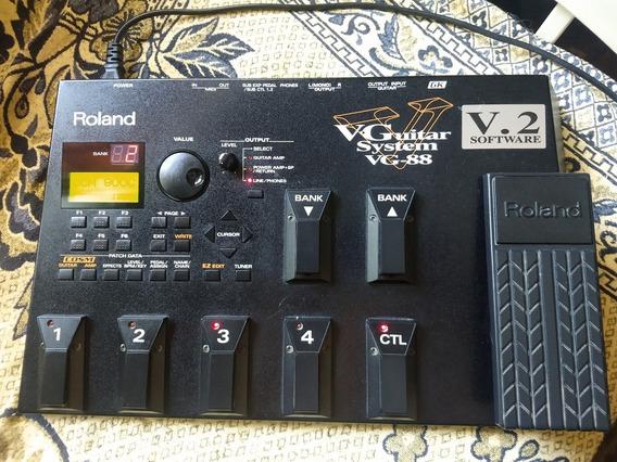 Roland Vg 88 V2 Sintetizador E Pedaleira