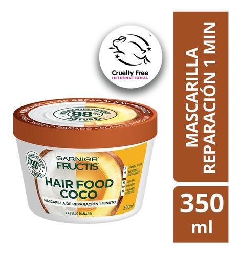 Mascarilla Natural Cabello Con Coco Hair Food Fructis