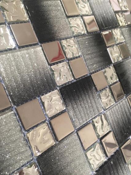 Malla Mosaico Decorativo P/muros 30x30cm Mod. Te-27 *1* Pza