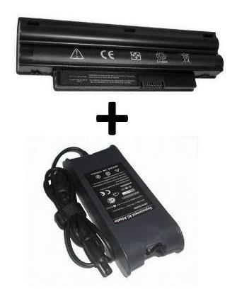 Kit Bateria Dell N4050 + Fonte Carregador Para Dell N4050