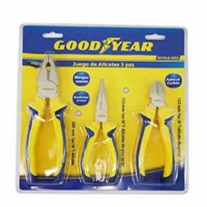 Set De 3 Alicates Good Year Gy-plk-4900 (no Envios)