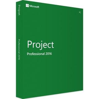 Microsoft Project Pro 2016 - 32/64 Bits - Licencia Original.