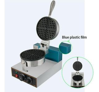 1250w 185mm Uso Comercial Seguridad Cocina Waffle Maker-4980