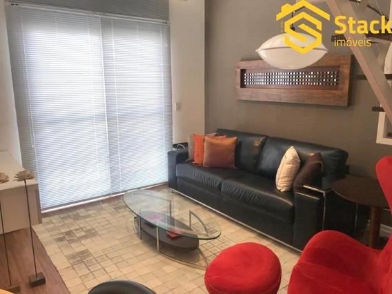 Apartamento Tipo Loft A Venda/locação Com Acabamento Ímpar Totalmente Mobiliado E Decorado Em Jundiaí, Ótimo Para Casais E Executivos. - Ap01850