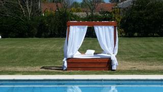 Camastro Doble, Beach Bed, Camastro De Madera, Colchon