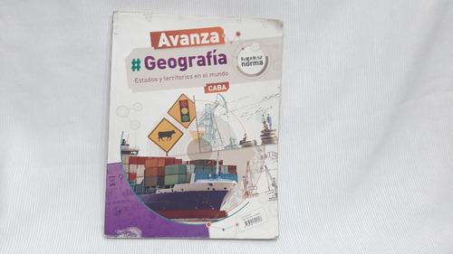 Geografia Estados Y Territorios En El Mundo Kapelusz Avanza