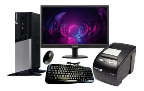 Imagem 1 de 1 de Rc 8400 + Monitor 15.6 + Impressora Não Fiscal 4200 Th Usb