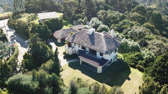 Linda Casa Com 6 Dormitórios (2 Suítes) À Venda, 6140 M² Por R$ 3.000.000 - Alto Da Vila Inglesa - Campos Do Jordão/sp - Ca0351