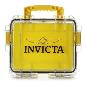Maleta Invicta Amarela Transp. - P/3 Rel. (slots, Caixa,tank
