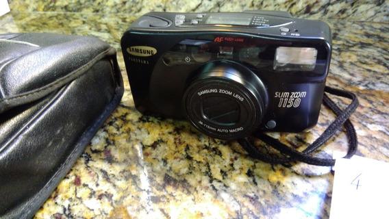 Câmera Analógica Antiga Samsung Slim Zoom 1150