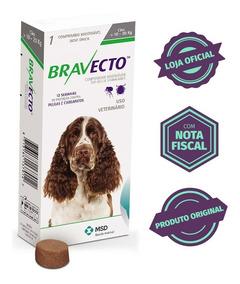 Bravecto Original Para Cães De 10 A 20kg - Validade 08/2019
