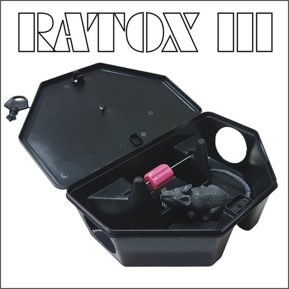 Kit 50 Porta Iscas Rato-ratox Iii
