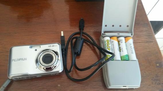 Camera Digital Fujifilm 12.2 + Carregador + Cartão Memória