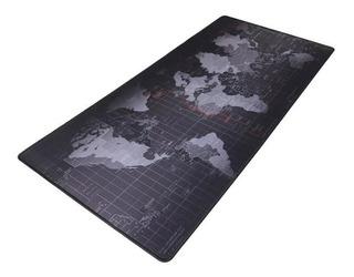 Mousepad Gamer Grande Mapamundi 30x80 Cm World Map Patte