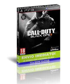 Call Of Duty Black Ops 2 + Mapas Revolution Ps3 Psn Br