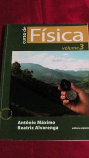 Curso De Física Volume 3 Antônio Máximo Beatriz Alvarenga