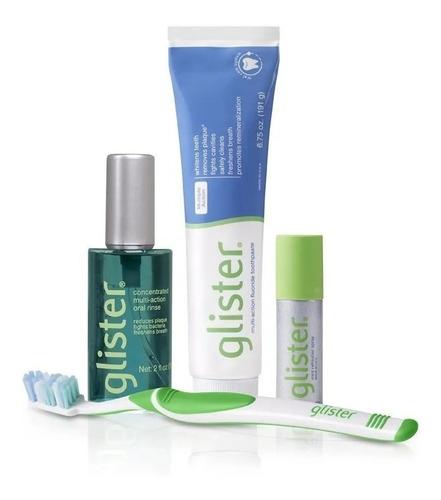 Combo Glister Para Limpieza E Higiene Bucal Completo