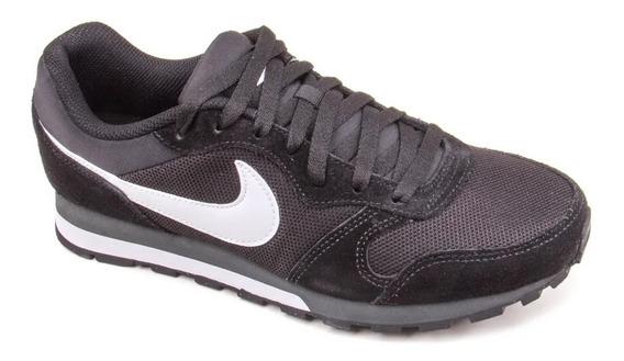Tênis Masculino Nike Md Runner 2 - Preto E Branco