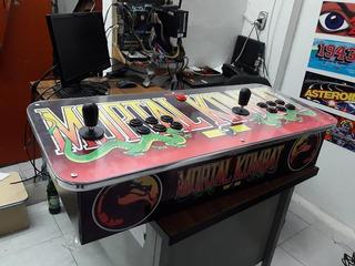 Tablero Arcade 2 Jugadores Personalizados + Pandora Box 5s