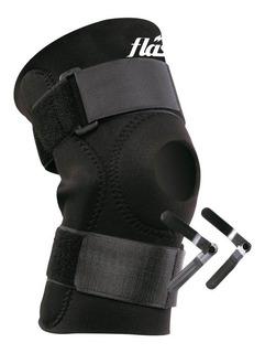 Rodillera Neoprene Flash Bisagras Apertura Rotuliana Lesion