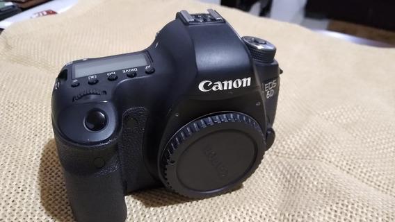 Câmera Canon 6d (somente Corpo) Alça, Carregador, Bateria - Na Caixa