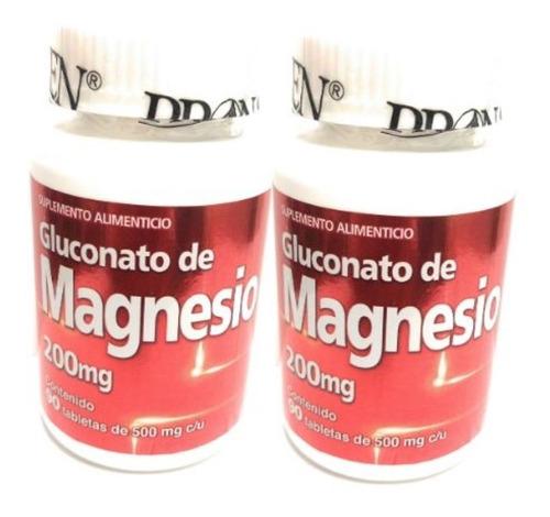 Gluconato De Magnesio 90 Tab Pronacen 200mg (2 Pz)enviofull