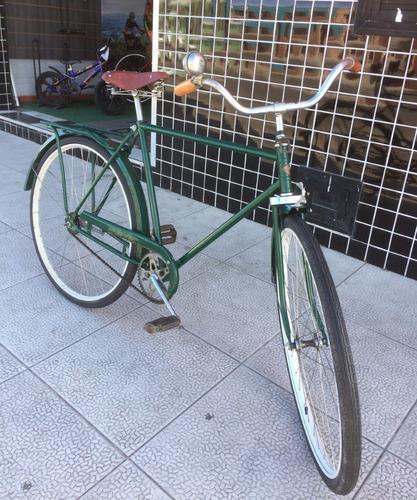 Imagem 1 de 2 de Bicicleta Antiga Monark Anos 50 Aro 28 Baixou!
