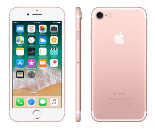Celular Smartphone iPhone 7 Apple 32gb Memória 2gb Ram Rosa