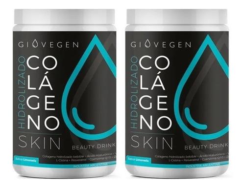 Imagen 1 de 8 de Giovegen Skin - Colágeno Hidrolizado  2 Meses De Tratamiento