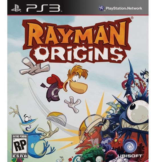 Rayman Origins - Ps3psn - Envio Hoje