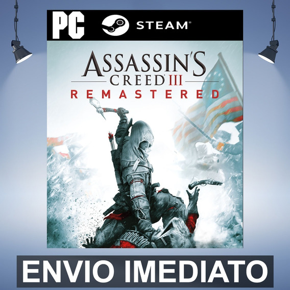Assassins Creed 3 Remastered - Pc Steam Gift Presente