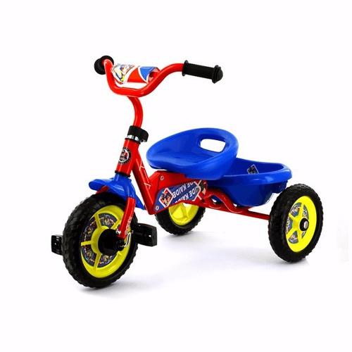 Triciclo De Metal Plegable Rojo