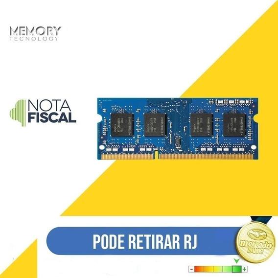 Memória 4gb Ddr3 1066mhz Pc3-8500s P/ Notebook Philco 1066