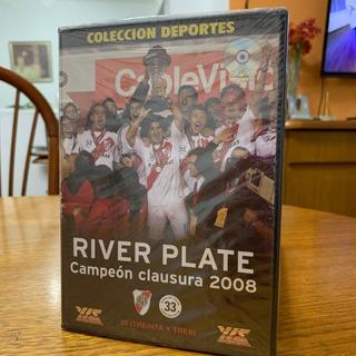 Para Coleccionistas! Espectacular Dvd River Campéon 2008