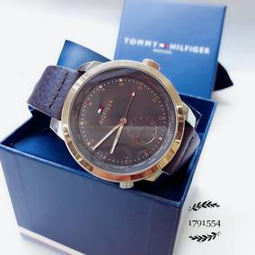 Relógio Tommy Hilfiger 1791554 Dourado Aço Inox Couro Preto