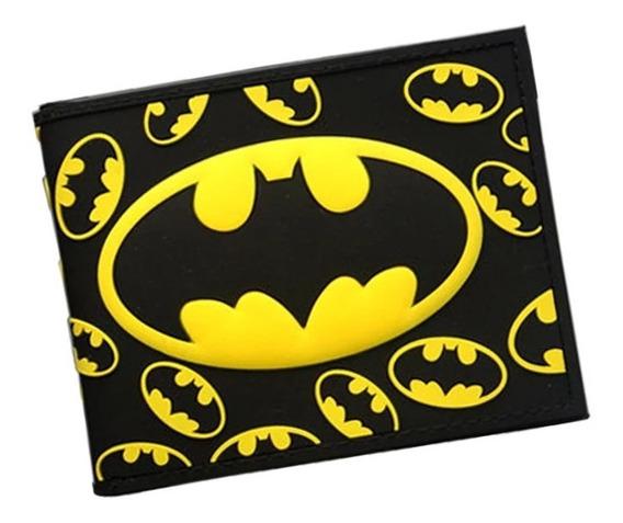 Billetera Dibujos Animados, Spiderman, Batman Y Capitan A