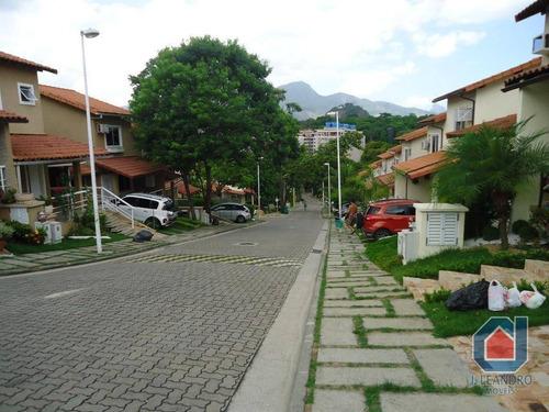 Imagem 1 de 30 de Casa Duplex Em Condomínio 2 Quartos No Pechincha - Ca0119