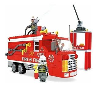 Legos Bomberos 911 Brigade Fire