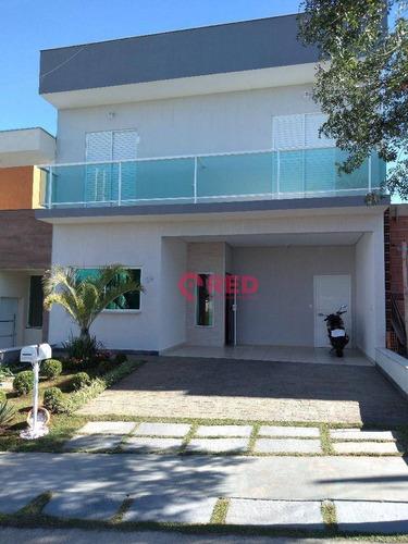 Sobrado Com 4 Dormitórios À Venda, 174 M² Por R$ 670.000,00 - Condomínio Terras De São Francisco - Sorocaba/sp - So0214