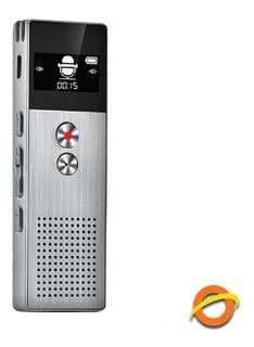 Grabador Digital De Voz Portatil Microfono Periodista