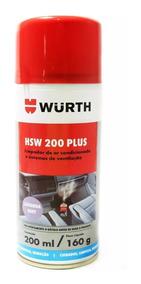 Higienizador Limpa Ar Condicinado Wurth Cheiro Sem Aroma