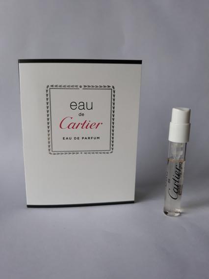 Amostra Perfume Eau De Cartier Edp 1,5ml Frete Grátis